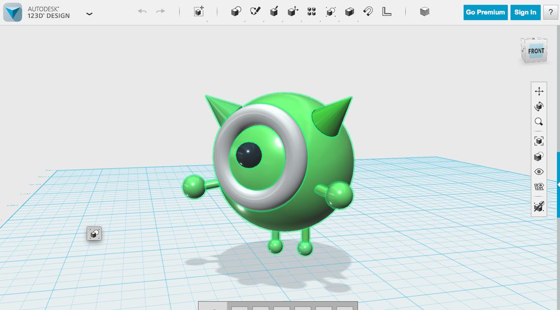 AutoDesk 123D Design Projects. 123D Design  3D Printing    De Anza Tech